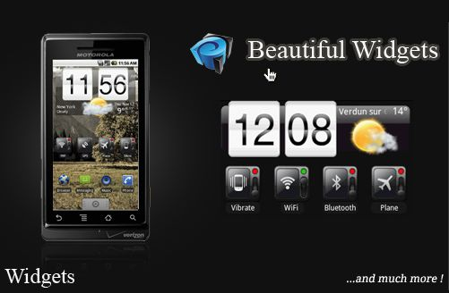 Beautiful Widgets gratuit