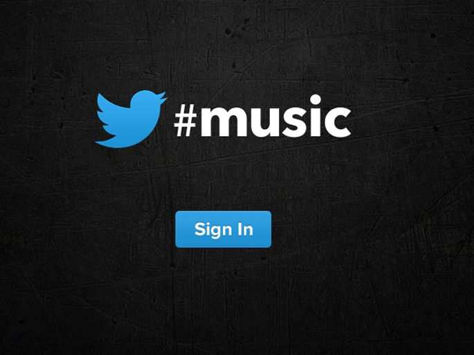 Twitter Music disponible