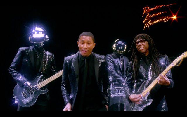 Get lucky, le nouveau single de Daft Punk