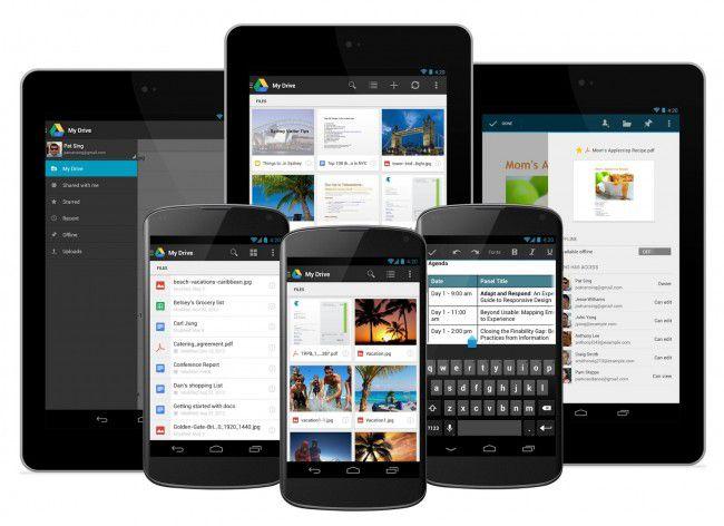 Google Drive : une belle mise à jour sur Android