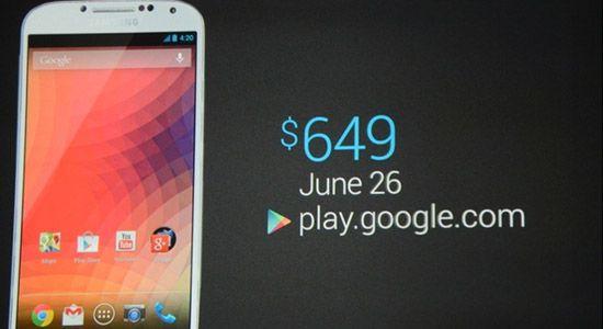 Galaxy S4 : le nexus de l'année ?