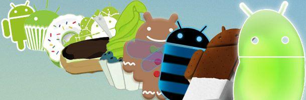 L'évolution d'Android et iOS en une image