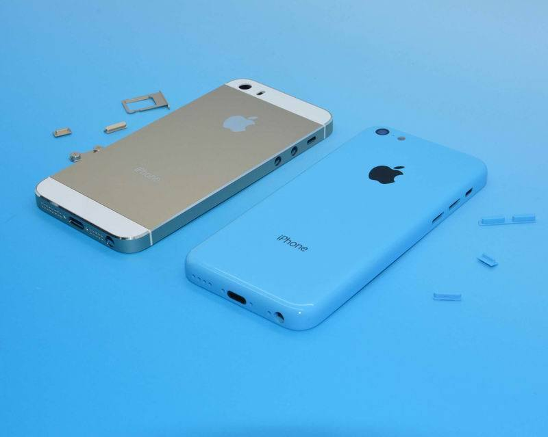 L'iPhone 5S comparé en photo avec le 5C