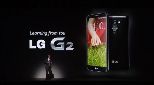 Le LG G2 en vidéo