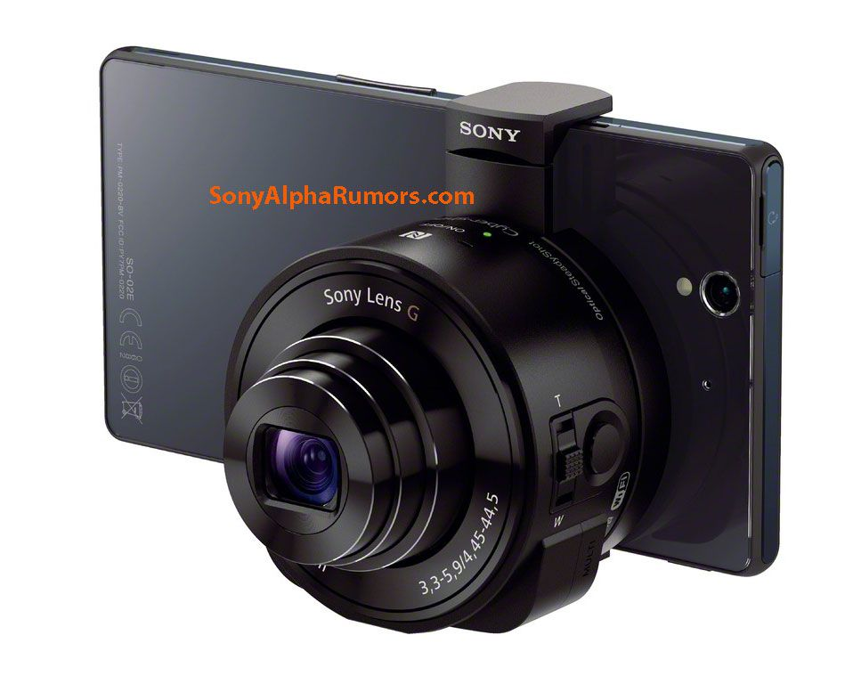 Les objectifs photo pour les smartphones Sony en photo.
