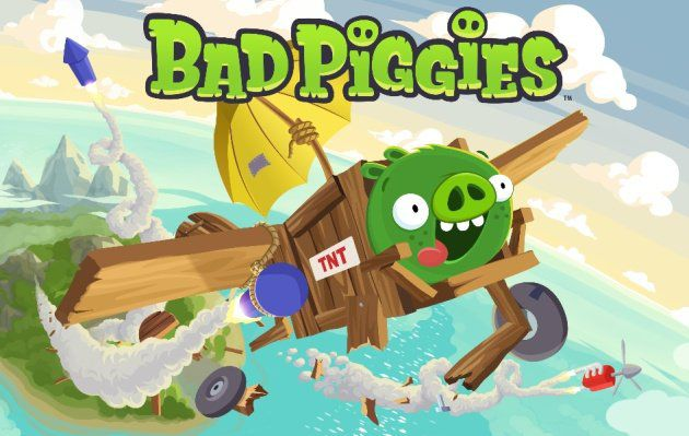 Bad Piggies gratuit sur iPhone et iPad