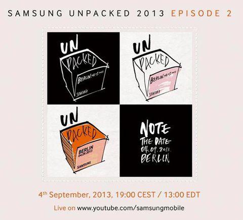 Le Galaxy Note 3 annoncé le 4 septembre prochain