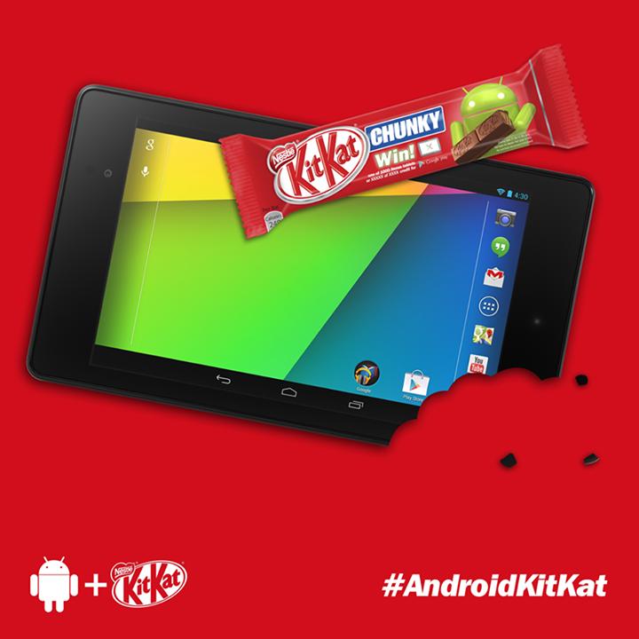 Les premières photos pour Android 4.4