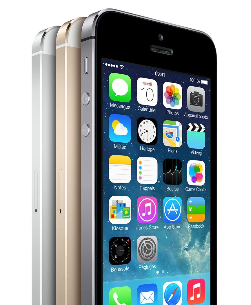 iPhone 5s officialisé