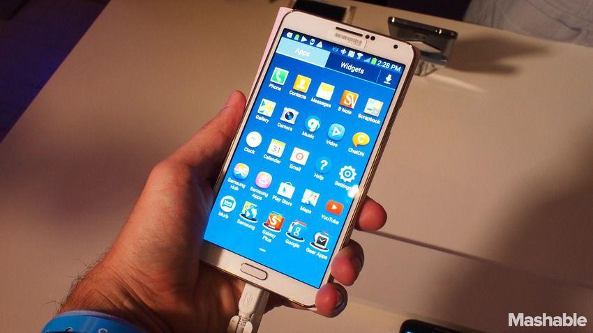 Une publicité assez originale pour le Galaxy Note 3