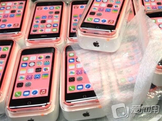 L'iphone 5C en boite