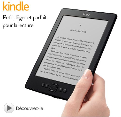 Bon plan : Le Kindle à 59€