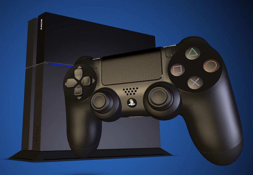 Déballage de la PlayStation 4 par … Sony