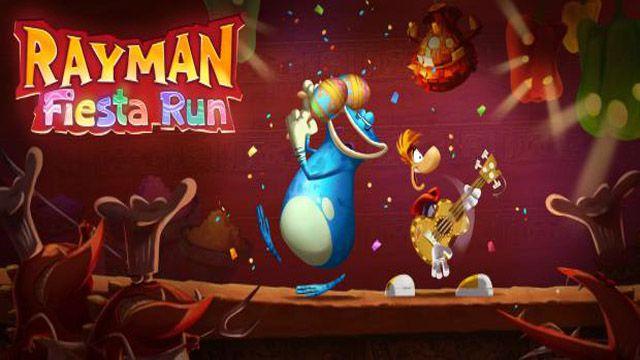 Rayman Fiesta Run disponible sur iOS