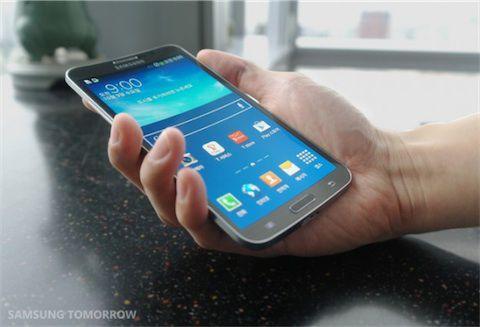Le Samsung Galaxy Round est officiel