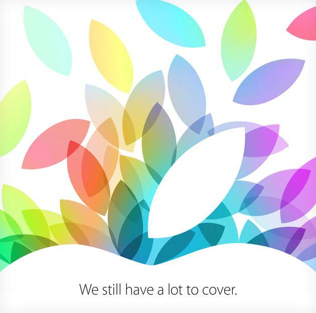 Keynote Apple le 22 octobre