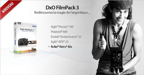 DxO FilmPack 3 gratuit