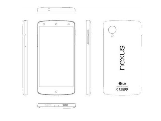 Le Nexus 5 les spécifications presque officialisées