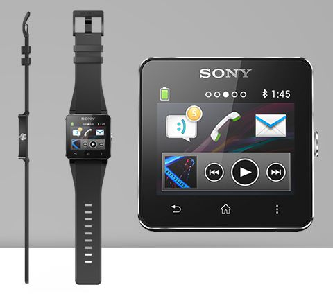 Déballage de la Sony SmartWatch 2