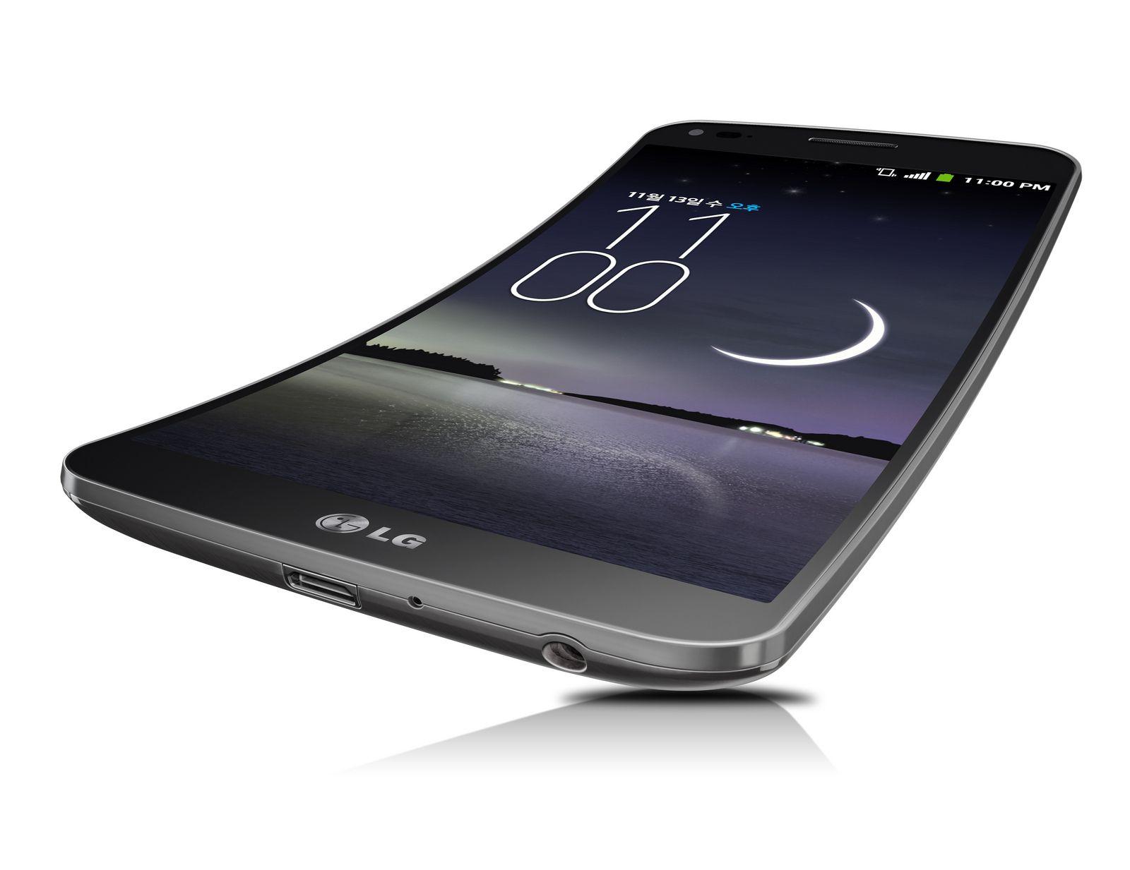 Une publicité pour le LG G Flex