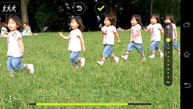 Cliché mouvement une nouvelle fonctionnalité pour l'appareil photo du Sony Xperia Z1