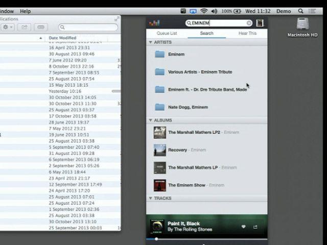 Une application Deezer pour Mac OS X