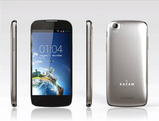 Kazam une nouvelle marque de téléphone mobile