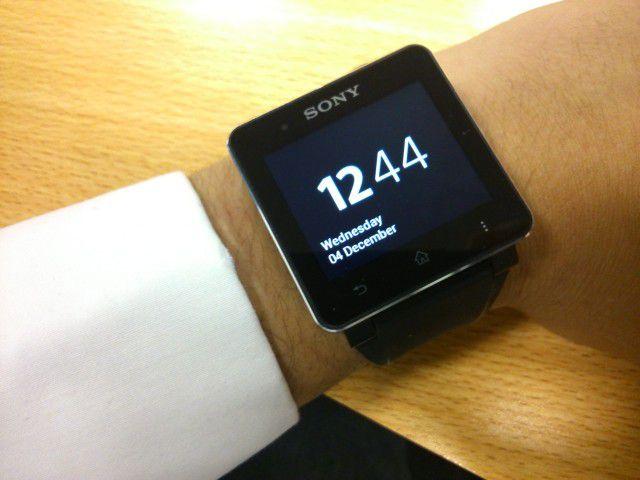 Une mise à jour pour la Sony SmartWatch 2