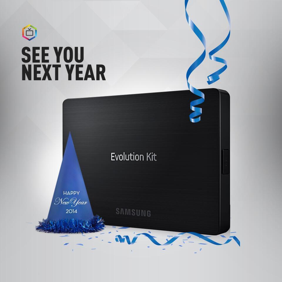 Un kit de mise à jour pour votre télévision Samsung Smart TV
