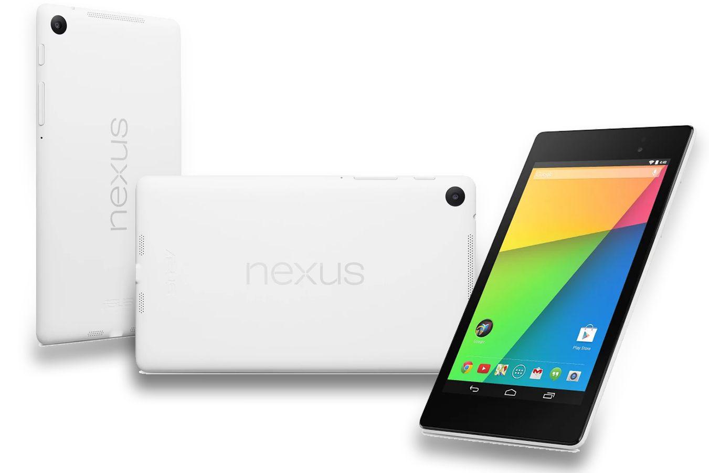 Nexus 7 blanche, Xperia Z Ultra et LG G Pad Google Edition