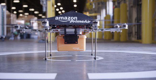 La livraison par drone chez Amazon