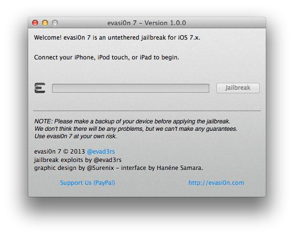 Le jailbreak d'iOS 7 enfin disponible !