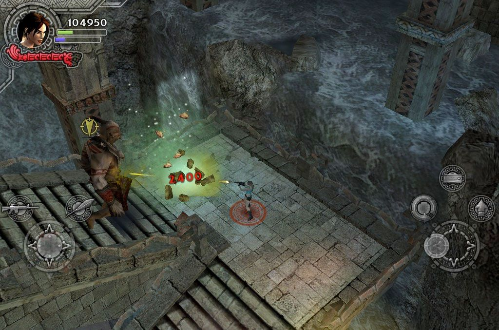 Tomb Raider sur l'iPhone et l'iPad