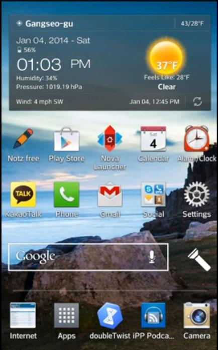 Android KitKat se dévoile en vidéo pour le LG G2
