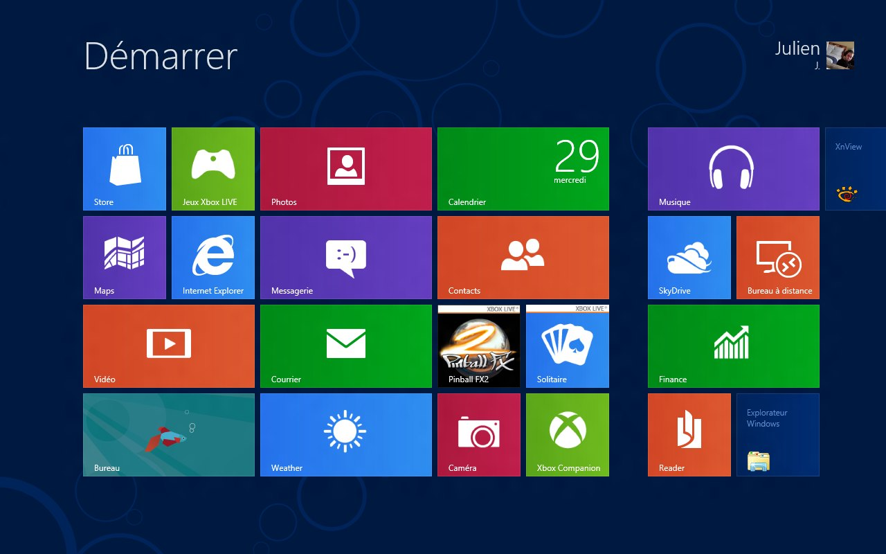J'aime Windows 8, mais je me soigne