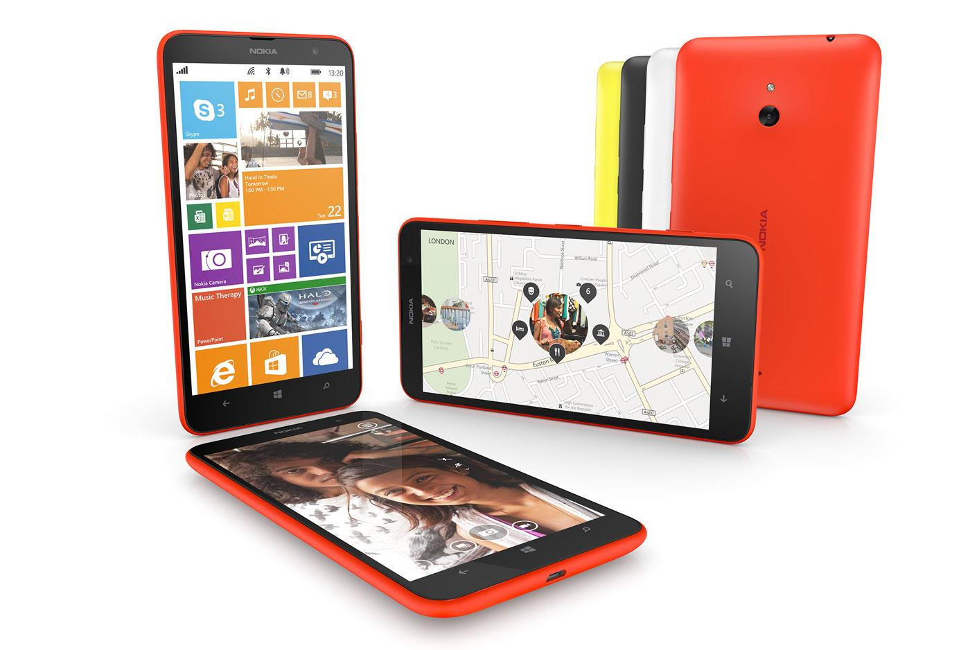 Le Nokia Lumia 1320 disponible à 299€