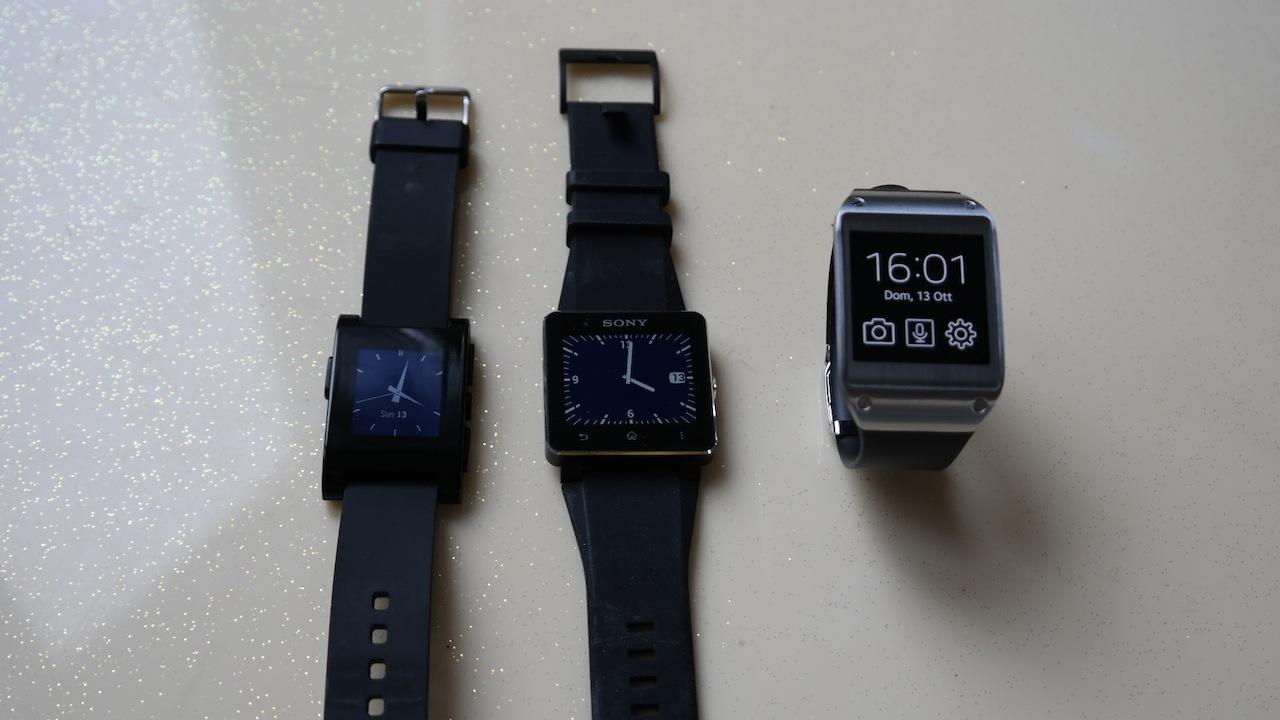 Comparatif entre la Sony SmartWatch 2, la Samsung Galaxy Gear et la Pebble