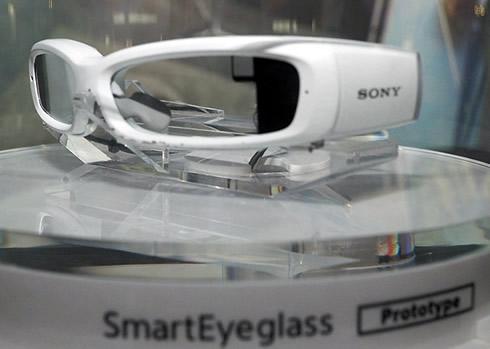 Une vidéo du prototype de lunette connecté de Sony