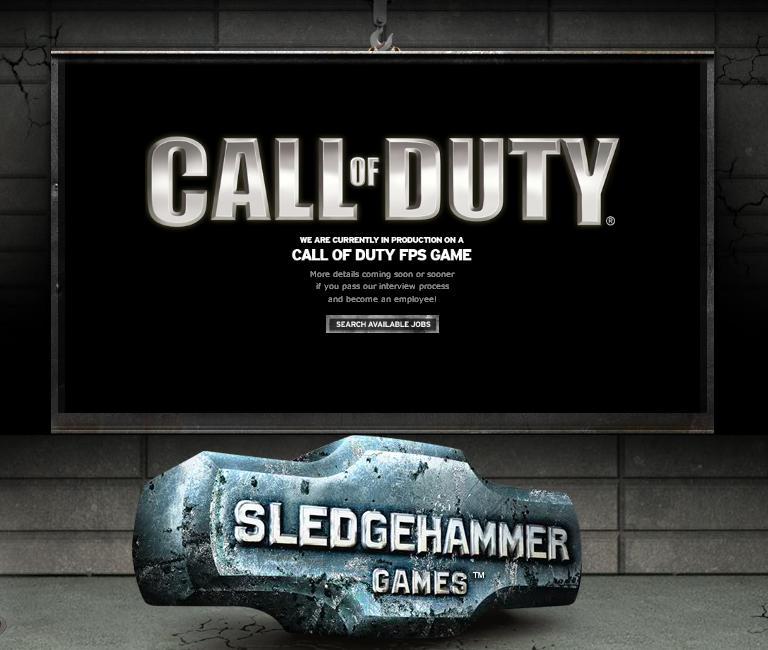 Call of Duty va être développé par un nouveau studio