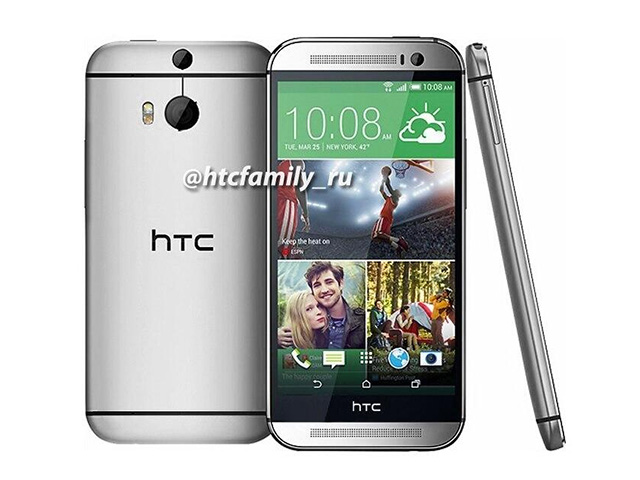 Le nouvel HTC One se dévoile en photos