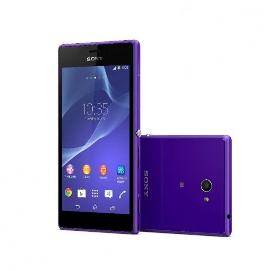 Le Sony Xperia M2 dévoilé