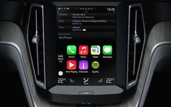 Carplay se dévoile en vidéo chez Volvo