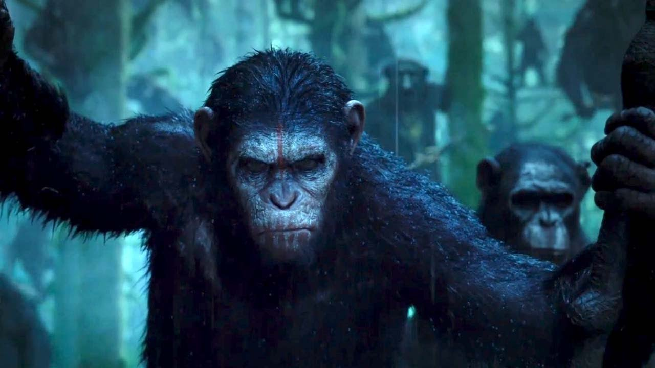 Le spot TV du film La Planète de singes : l'affrontement