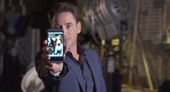 Robert Downey Jr. Aime beaucoup le HTC One M8