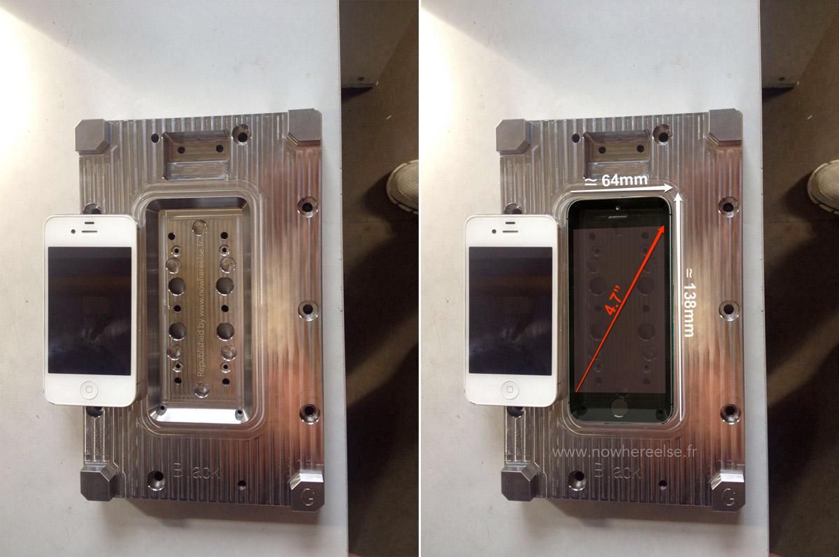 L'iPhone 6 se dévoile en photo