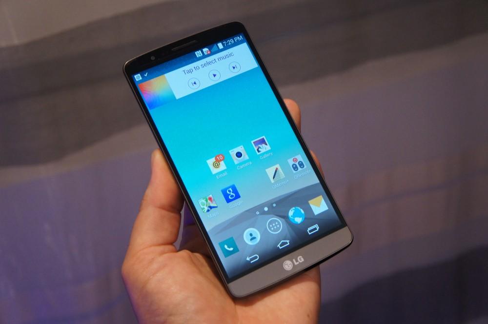 Les premières prises en main vidéo du LG G3