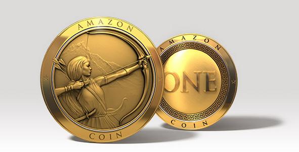 Amazon offre 5€ de sa nouvelle monnaie en application