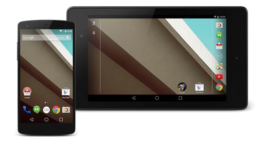 Mettez un peu d'Android L dans votre smartphone.