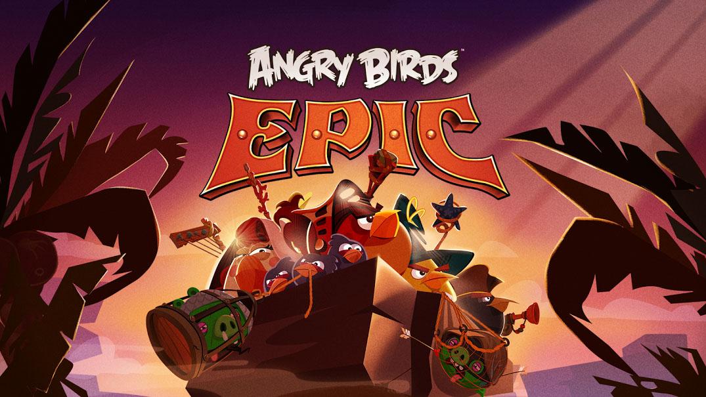 Angry Birds Epic, le nouveau jeu Rovio qui n'est pas un Angry Birds