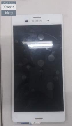 Les Sony Xperia Z3 et Z3 Compact se dévoilent en photos